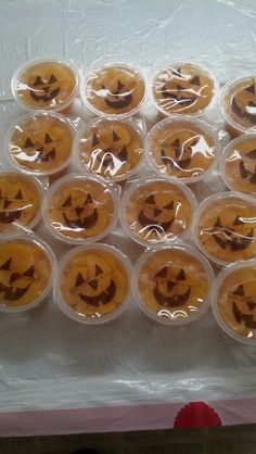 Halloween snacks. Great if you aren't allowed to bring in homemade food.