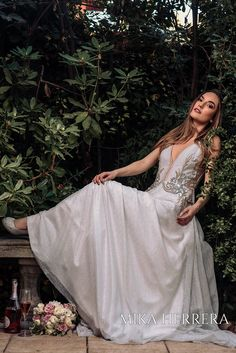 Every petal of the Angie wedding dress has been handmade crafted. Go to our website or visit us in our bridal shop in London, United Kingdom. Wedding Dresses London, Bridal Wedding Dresses, London United, I Dress, United Kingdom, Bride, Website, Formal, Elegant