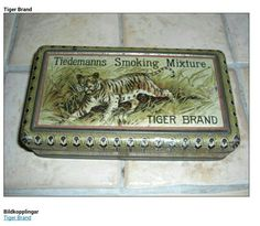 Tiedemanns Smoking Mixture Tiger Brand Sweden