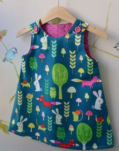 Pinafore Dress from Creatures and Critters