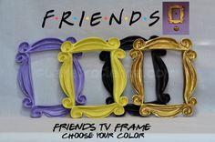 FRIENDS TV SHOW - PEEPHOLE FRAME MONICA'S DOOR - YOU'LL LOVE IT !! F•R•I•E•N•D•S in Home & Garden, Home Décor, Frames   eBay