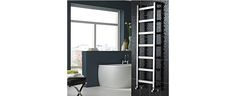 Vogue Boxa Heated Towel Rail, chrome or stainless steel straight designer towel rail dual fuel or electric - Prices from inclusive of VAT and delivery. Big Bathrooms, Amazing Bathrooms, Kitchen Rails, Towel Radiator, Designer Radiator, Towel Warmer, Contemporary Style, Modern, Heated Towel Rail