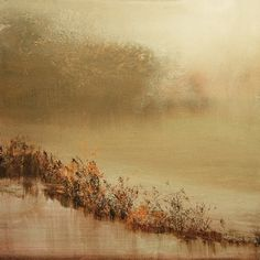 "Saatchi Online Artist: Maurice Sapiro; Oil, 2011, Painting ""The Lake At Dawn"""