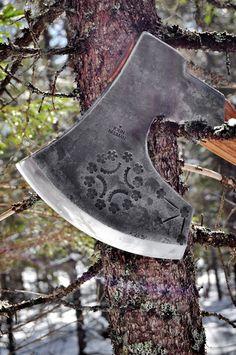 Latvian axe by John Neeman.