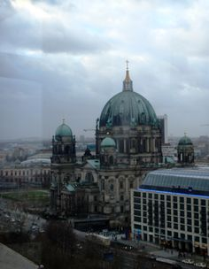 Berliner Dom view from the ferris wheel