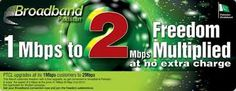 PTCL has again come forward with a new very useful offer for its clients and users to get your broadband speed double on iMbps package. This new offer by the PTCL gives its customers the fantastic ...