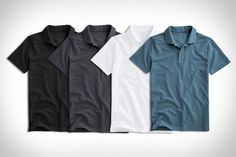 Inspired by the timeless look of 007, the Mack Weldon Vesper Polo brings…