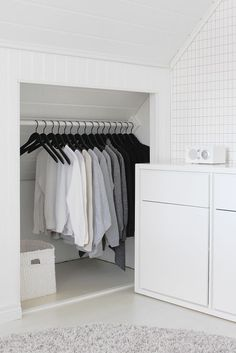 If you are lucky enough to have an attic in your home but haven't used this space for anything more than storage, then it's time to reconsider its use. An attic Attic Master Bedroom, Attic Bedroom Designs, Attic Rooms, Attic Spaces, Bedroom Loft, White Bedroom, Attic Bathroom, Attic Renovation, Attic Remodel