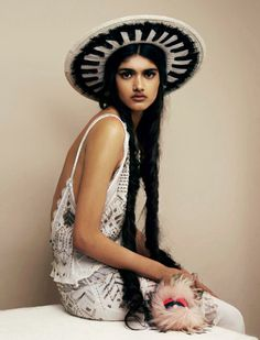 Neelam Johal photographed by Liam Warwick For Wonderland February/March 2014