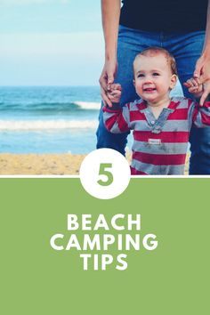 5 beach camping tips to improve your family outing Beach Camping Tips, Camping Hacks, Caravan Holiday, Holiday Park, Family Outing, Parks, Improve Yourself, Camping Tricks, Camping Tips Tricks