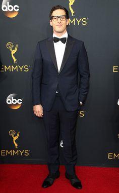 Andy Samberg in Ermenegildo Zegna tuxedo #Emmys2016