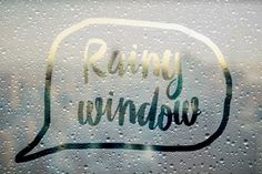 Rainy Window Effect Smart Layers by Pavle on Creative Market