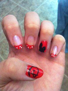 Disney nail art - Ellisy