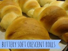 Buttery Soft Crescent Rolls - The Mind to Homestead