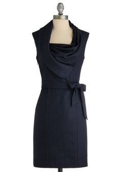 Super beautiful, classy black dress for work or night out.
