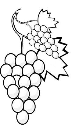 fruit and vegetables coloring pages - Coloring Pictures For Toddlers