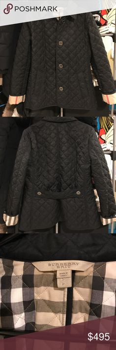 Burberry Brit Quilted Jacket Worn lightly a couple times! Still like brand new! Comes with tags and extra buttons and a dust bag! Bought it from Nordstrom! Burberry Jackets & Coats Pea Coats