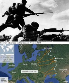 Operation Barbarossa pic and map