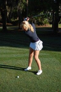 Lululemon skirt!!!   I love it for the gym AND golf :-)