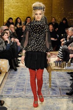 Chanel Pre-Fall 2011 Metiers d'Art Paris Byzance collection #GG Slideshow on Style.com