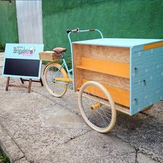 Essa #foodbike já tem dono e é exclusiva, mas podemos planejar e montar uma na medida pra você ✌️ #olebikes