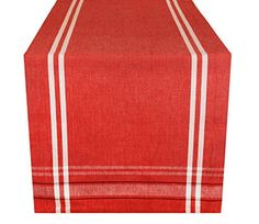 DII 100percent cotton table runners come in a variety of colors & sizes. These table runners are perfect for picnics, parties, showers, dinners, everyday use and more. DII offers a variety of prints and patterns, giving you numerous options for your next event or dinner party. All of DII... more details available at https://perfect-gifts.bestselleroutlets.com/gifts-for-holidays/home-kitchen/product-review-for-dii-100-cotton-machine-washable-everyday-french-stripe-kitchen-