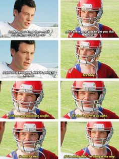 Glee A good lesson to learn be yourself don't let others define you Kurt always has been himself