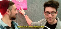 Idiots Bastille dan smith Kyle Simmons bastille gifs christianbail •