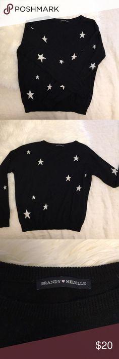 Brandy Melville sweater Wool blend, super cute relaxed fit sweater Brandy Melville Sweaters
