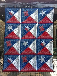 60 Best Bandana Quilts Images Bandana Quilt Bandana