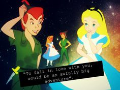 Peter Pan and Alice - To fall in love