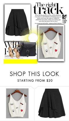 """Shein"" by steka-1 ❤ liked on Polyvore featuring Alexander McQueen and Loeffler Randall"