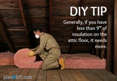 Does your attic have enough insulation? If not, watch this how-to video on adding insulation to your attic.