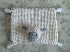 Crochet Tutorial: Cuddly Sheep Baby Toy Pram Blanket Free Pattern - Crafting Happiness