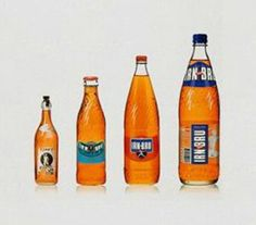 Irn Bru through the years, still the best hangover cure ever lol