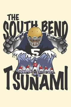 Manti Te'o...watch out Bama, he's coming for you!!!