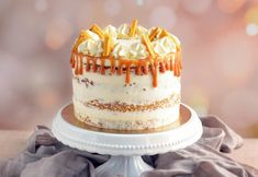 Sós karamelles-mascarponés répatorta törökmézzel és egy pici bátorsággal   Sweet & Crazy Balerina, Vanilla Cake, Nutella, Food, Cakes, Sweet, Caramel, Candy, Cake Makers