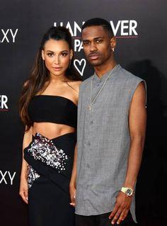 Naya Rivera and Big Sean both looking good