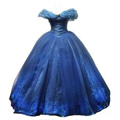 Yisha Women's Princess Cinderella Blue Ball Gown Quinceanera Dresses... ($249) ❤ liked on Polyvore featuring dresses, gowns, blue dress, prom ball gowns, blue evening gown, prom dresses and blue ball gown