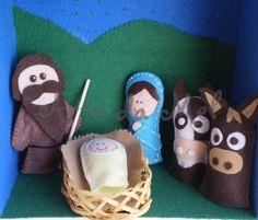 Artesanato de Natal Em Feltro - Para quem deseja aprontar um enfeite de natal para enfeitar a casa o