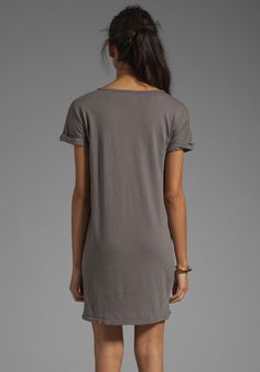 C&C CALIFORNIA Cap Sleeve Shift Dress in Faded Black at Revolve Clothing - Free Shipping!