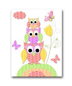 Owl Decor Owl Nursery INSTANT DOWNLOAD Art Digital Baby Room Digital Art Baby Girl Nursery Decor Download Digital Download Art 8x10 11X14 by nataeradownload on Etsy https://www.etsy.com/listing/204955938/owl-decor-owl-nursery-instant-download