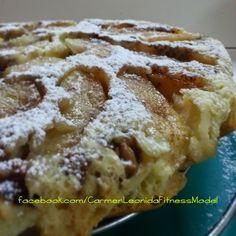 Carmen Leonida: Torta di mele, noci e avena, volendo vegan