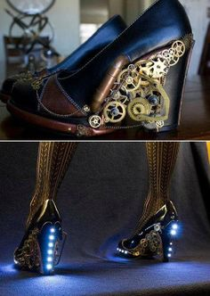 SteamPunk Shoes!