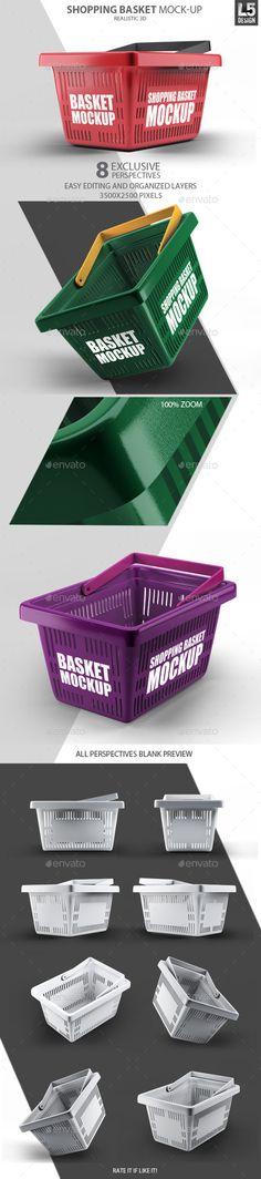 Shopping Basket Mock-Up