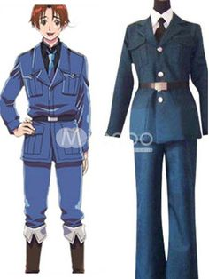 Axis Powers Hetalia Feliciano Vargas Cosplay Costume. Make you the same as Lithuania in this Hetalia Axis Powers cosplay costume for cosplay show.. See More Axis Powers Hetalia at http://www.ourgreatshop.com/Axis-Powers-Hetalia-C825.aspx