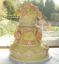 Creative & Colorful Wedding Cake Designs - Art Eats Bakery - Taylor's SC Premier Cake Boutique