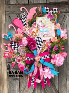Everyday Wreath, Wreath For Front Door, Spring Wreath, Summer Wreath, Whimsical Wreath Easter Bunny Decorations, Valentine Decorations, Easter Wreaths, Summer Wreath, 4th Of July Wreath, Spring Wreaths, Beach Wreaths, Wreath Crafts, Diy Wreath
