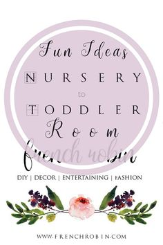 Fun Ideas to Transform a Nursery into Toddler & Tween Room | The Lovely Things http://frenchrobin.com/fun-ideas-toddler-room/?utm_campaign=coschedule&utm_source=pinterest&utm_medium=French%20Robin%20Designs&utm_content=Fun%20Ideas%20to%20Transform%20a%20Nursery%20into%20Toddler%20and%20Tween%20Room%20%7C%20The%20Lovely%20Things #decorating #decorideas #diydecor