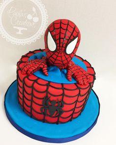 Spiderman Cake Ideas for Little Super Heroes - Novelty Birthday Cakes Spiderman Cake Topper, Spiderman Birthday Cake, Spiderman Theme, Batman Cakes, Avengers Birthday, Superhero Cake, Spiderman Kids, Novelty Birthday Cakes, 3rd Birthday Cakes